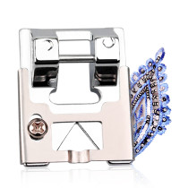 Kalevel Braiding Sewing Machine Presser Foot Fits for All Low Shank Snap-On Singer, Brother, Babylock, Janome, Elna, Euro-Pro, Simplicity, White, Kenmore, Juki, New Home and More