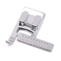 Kalevel Sewing Machine Stitch Guide Presser Foot with a Ruler Fits All Low Shank Snap-On Singer, Brother, Babylock, Janome, Elna, Euro-Pro, Simplicity, White, Kenmore, Juki, New Home and More