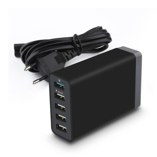 5 in 1 Usb Hub Charger