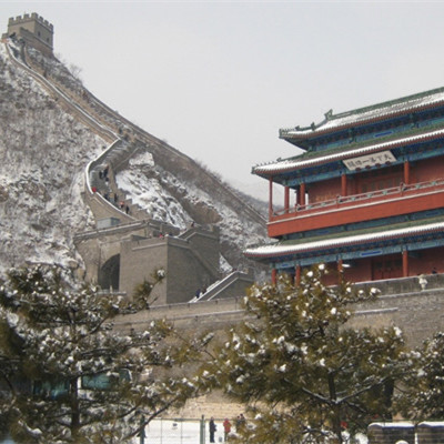Beijing Juyong Pass Great Wall,Ming Tombs and Forbidden City