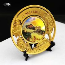 Beijing Scenery plate like Great Wall ,Summer Palace ,Bird'Nest etc,for display and decoration