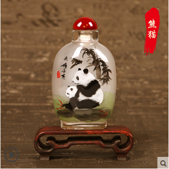 Traditional Style Chinese Snuff Bottle