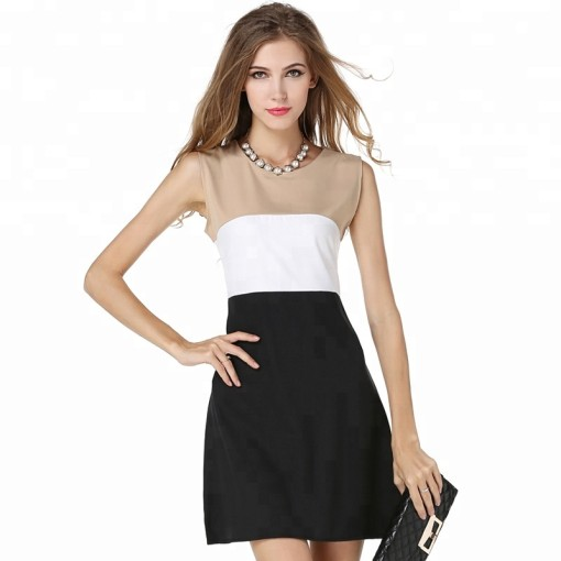 New Design Hot Sale Women Fashion Dress Cheap Dress