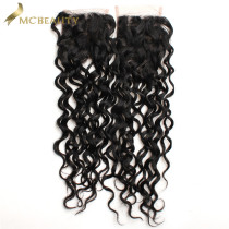 Mcbeauty Hair 4x4 Lace Closure Indian Water Wave