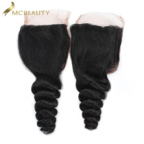 Mcbeauty Hair 4x4 Lace Closure Peruvian Loose Wave