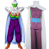 Rulercosplay Dragon Ball Piccolo Familiar IMP Uniform Cloth Combined Leather Costume Wholesaler Resa