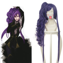 Rulercosplay Vocaloid Gakupo Long Curly Purple Anime Cosplay Wigs Wholesaler Resaler