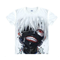 Tokyo Ghoul Fashion Animation White Smooth Decron T-shirt 017 More Patterns
