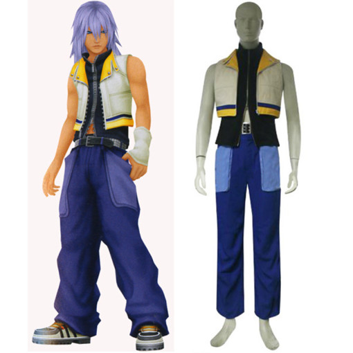 Rulercosplay Kingdom Hearts 2 Riku Purple Cosplay Costume Wholesaler Resaler
