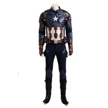 Captain America 3 Civil War Marvel's The Avengers Iron Man Anime Cosplay Costumes