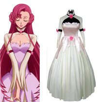 Rulercosplay Code Geass Euphemia Princess Dress White Cosplay Costume Wholesaler Resaler