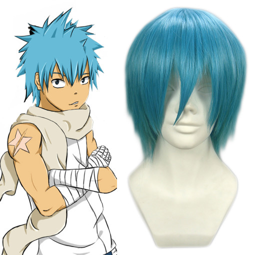 Rulercosplay Soul.Eater Blackstar Blue Heat Resistant Fiber Cosplay Anime Wigs Wholesaler Resaler