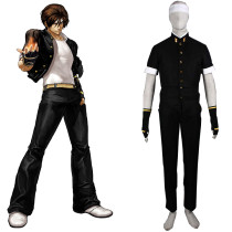 Rulercosplay The King Of Fighters' 97 Kyo Kusanagi Green Cosplay Costume Wholesaler Resaler
