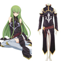 Rulercosplay Code Geass C.C Black Suit Black Cosplay Costume Wholesaler Resaler
