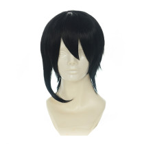 Rulercosplay LoveLive! Nico Yazawa Male Version Black Short Heat Resistant Fiber Cosplay Anime Wigs
