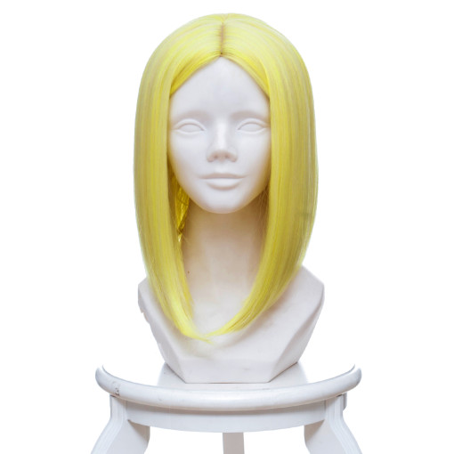 Rulercosplay Land of the Lustrous Yellow Diamond Yellow Short Anime Cosplay Wigs