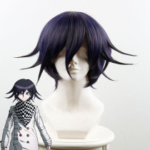 Rulercosplay New Danganronpa V3: Killing Harmony Kokichi Oma Black And Purple Ombre Anime Cosplay Wi