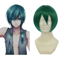 Rulercosplay VOCALOID Mikuo Green Heat Resistant Fiber Short Cosplay Anime Wigs Wholesaler Resaler
