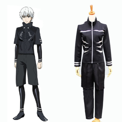 Rulercosplay Black Tokyo Ghoul Ken Kaneki Cotton Cosplay Costume Wholesaler Resaler