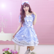 Knee-length Dress With Short Sleeve Idyllic Sweet Princess Lolita Dress