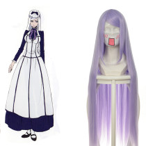 Rulercosplay Heat Resistant Fiber Inspired By Black Butler Hannah Anafeloz Super Long Purple Anime C