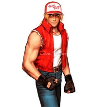 Rulercosplay The King Of Fighters' Terry Red Cosplay Costume Wholesaler Resaler