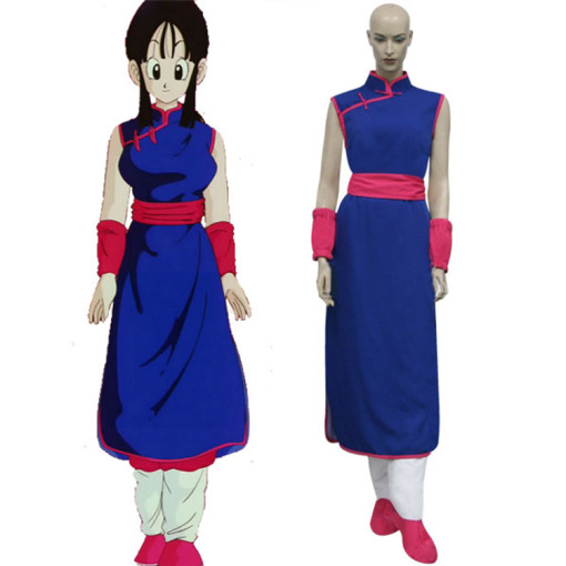 Rulercosplay Dragon Ball Z Chi Chi Blue Cosplay Costume Wholesaler Resaler