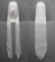 Rulercosplay Heat Resistant Fiber Inspired By InuYasha Seshomaru Super Long White Anime Wigs Wholesa