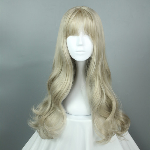 Rulercosplay Long Curl Flaxen Lolita Wigs Wholesaler Resaler