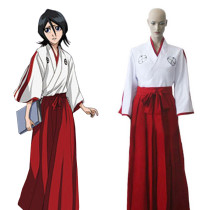 Rulercosplay Bleach Shinigami Academy Girl Kimono Red Cosplay Costume Wholesaler Resaler