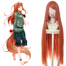 Rulercosplay Long Spice And Wolf Horo Orange Amine Cosplay Wigs Wholesaler Resaler