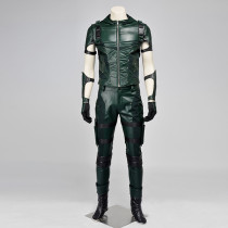 Green Arrow Season 3 Anime Cosplay Costumes