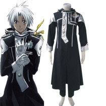 Rulercosplay D. Gray-Man Allen Walker 1st Uniform Black Cosplay Costume Wholesaler Resaler