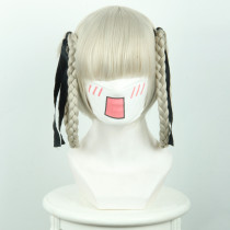 Rulercosplay Kakegurui Momobami Kirari Gray Braid Anime Cosplay Wigs