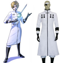 Rulercosplay Bleach Tesla Cosplay White Uniform Cloth Costume Wholesaler Resaler
