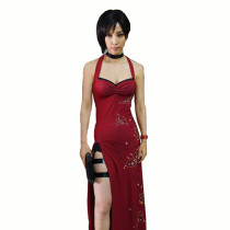 Rulercosplay Resident Evil Ada Wong Red Cosplay Costume Wholesaler Resaler