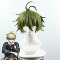 Rulercosplay New Danganronpa V3: Killing Harmony Rantaro Amami Green Anime Cosplay Wigs