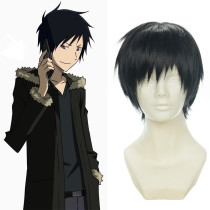 Rulercosplay DuRaRaRa Izaya Orihara Short  Black Anime Cosplay Wigs Wholesaler Resaler