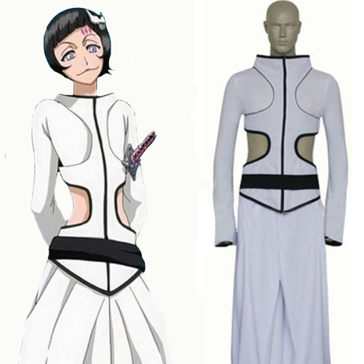 Rulercosplay Bleach Ex-Sexta Espada Luppi White Cosplay Costume Wholesaler Resaler