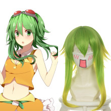 Rulercosplay Vocaloid Gumi Medium-length Green Anime Cosplay Wigs Wholesaler Resaler