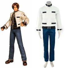 Rulercosplay The King Of Fighters' Kyo Kusanagi White Cosplay Costume Wholesaler Resaler