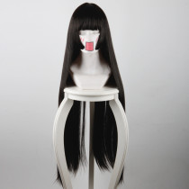 Rulercosplay Jigoku Shoujo Enma Ai Long Black Anime Cosplay Wigs