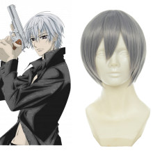 Rulercosplay Vampire Knight KIRYU ZERO Sliver Gray Heat Resistant Fiber Anime Short Cosplay Anime Wi