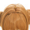 Rulercosplay Cardcaptor Sakura KINOMOTO SAKURA double ponytail Yellow Anime Cosplay Wigs