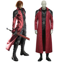 Rulercosplay Final Fantasy VII Genesis Rhapsodos Deluxe Red Cosplay Costume Wholesaler Resaler
