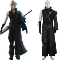 Rulercosplay Final Fantasy VII 7 Cloud Deluxe Black Cosplay Costume Wholesaler Resaler