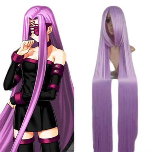 Rulercosplay Fate Stay Night Rider Purple Cosplay Anime Wigs Wholesaler Resaler