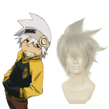 Rulercosplay Soul Eater Evans Gray Short Heat Resistant Fiber Cosplay Anime Wigs Wholesaler Resaler