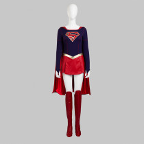 Supergirl Kara Hallowmas Anime Cosplay Costumes