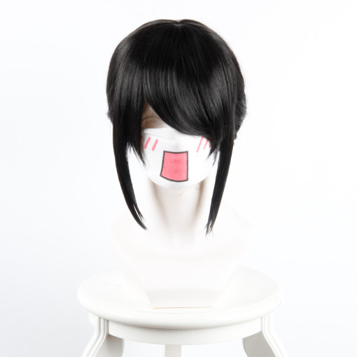 Rulercosplay Your Name Miyamizu Mitsuha Black Ponytail Anime Cosplay Wigs